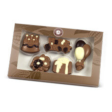 birthday chocolate set