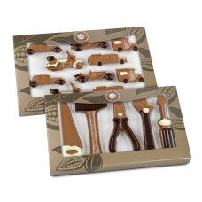 chocolate Cars and Tools Set