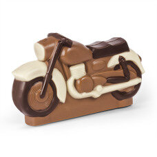 Presents for him, chocolate for him, chocolate car