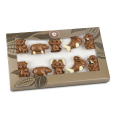 chocolate animal shapes