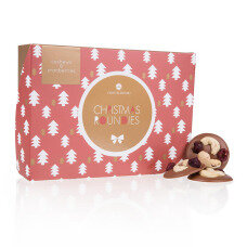 belgian pralines, chocolate pralines, gift for Christmas, Xmas decoration, charming gift for xmas, lovely pralines as a christmas present