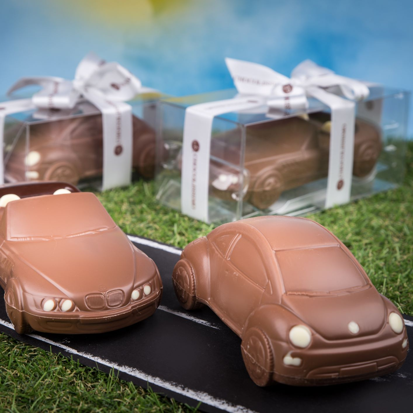 chocolate bmw car