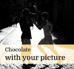 Chocolate with picture