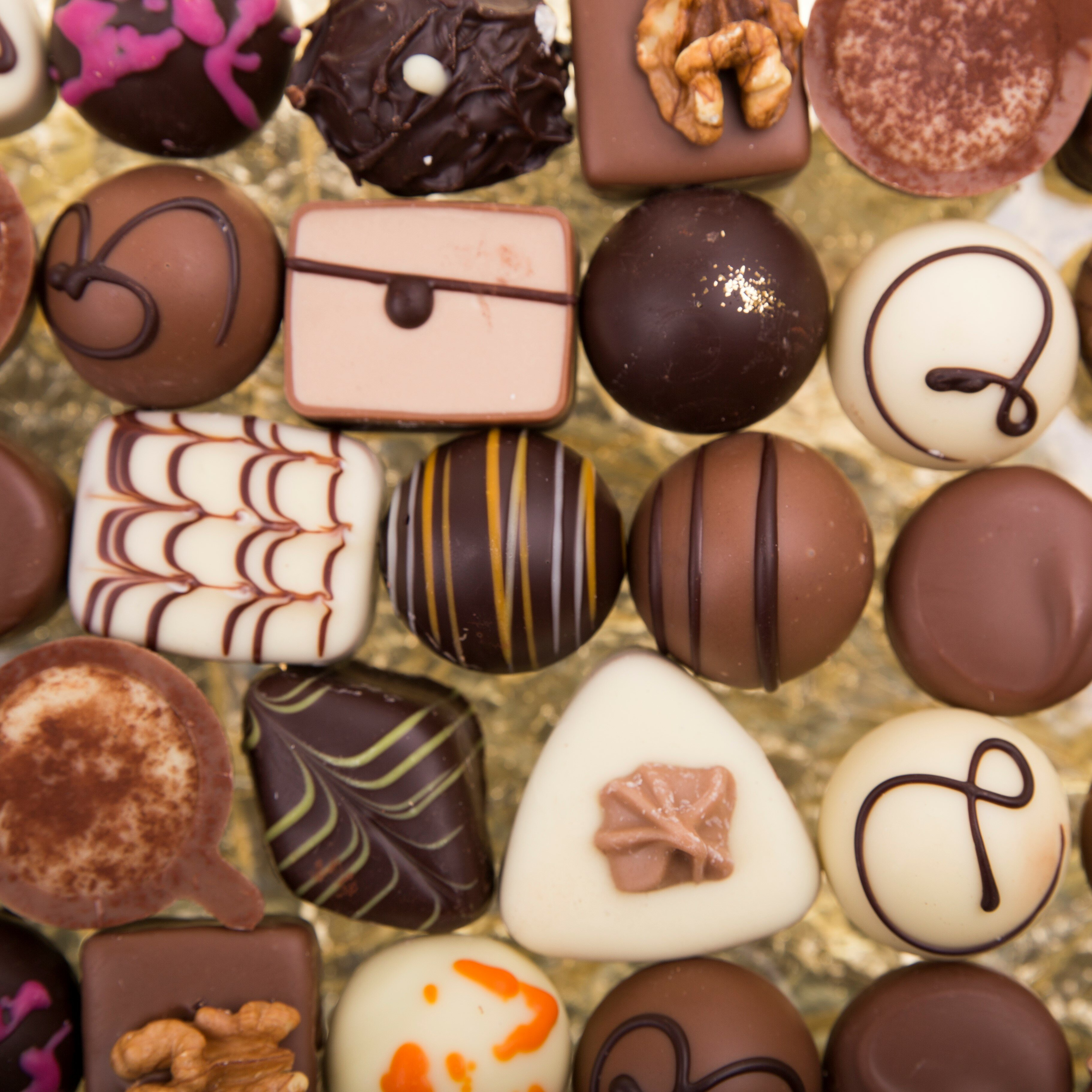 best handmade chocolate pralines in the world
