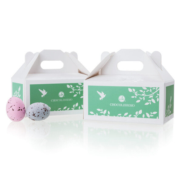 Chocolissimo chocolates for weddings original gifts corporate mini easter eggs eggs in sugar shell negle Image collections
