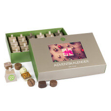 advent calendar with your own picture, chocolate feast