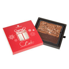 Decorative Christmas Chocolate Gift