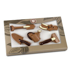 chocolate garden set