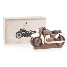 chocolate motorcycle, chocolate bike