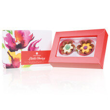chocolate flowers, chocolate pralines, chocolate gift, gift for women