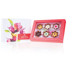 chocolate pralines, spring chocolate, gift for women, gift for mom