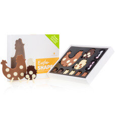 3d chocolate chicken figurines