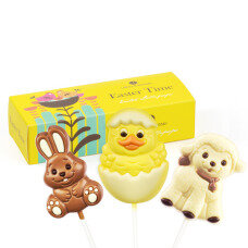 Easter chocolate lollipops