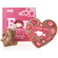 valentine chocolate set