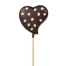 chocolate lollipop for Valentines