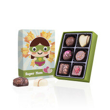 gift idea for a super mummy, chocolates
