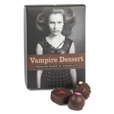 vampire chocolate for Hallowen