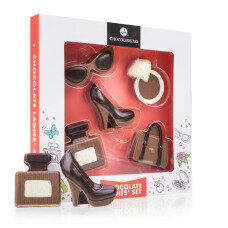 chocolate figures, vanity chocolate, chococlate for women, gift for a lady, present for a girlfriend, Valentines Day