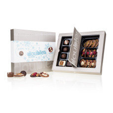 set of specially selected chocolate sweets