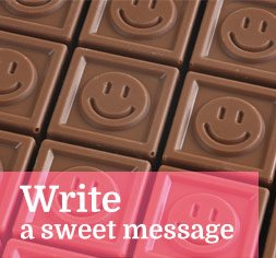 Write a sweet message